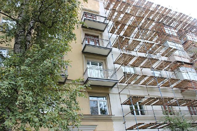 Что входит в капремонт фасада многоквартирного дома