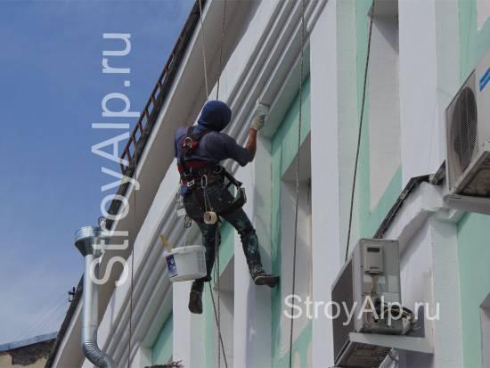 Что включает ремонт фасада дома при капитальный ремонт