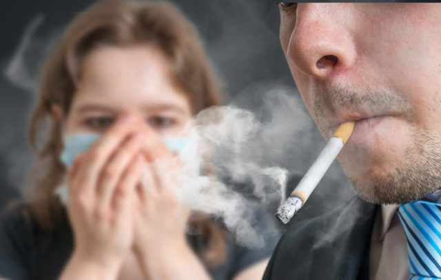 Где в многоквартирном доме запрещено курить