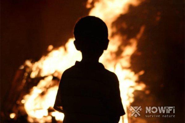 Как вести себя при пожаре в многоквартирном доме