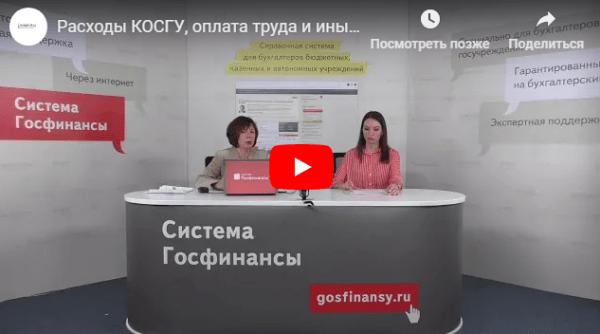 КОСГУ 2019: льготы по коммунальным услугам