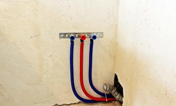 Где находится точка водоразбора в многоквартирном доме