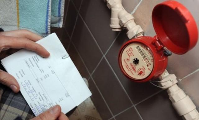 Как вписать показания водосчетчиков в квитанцию ЖКХ