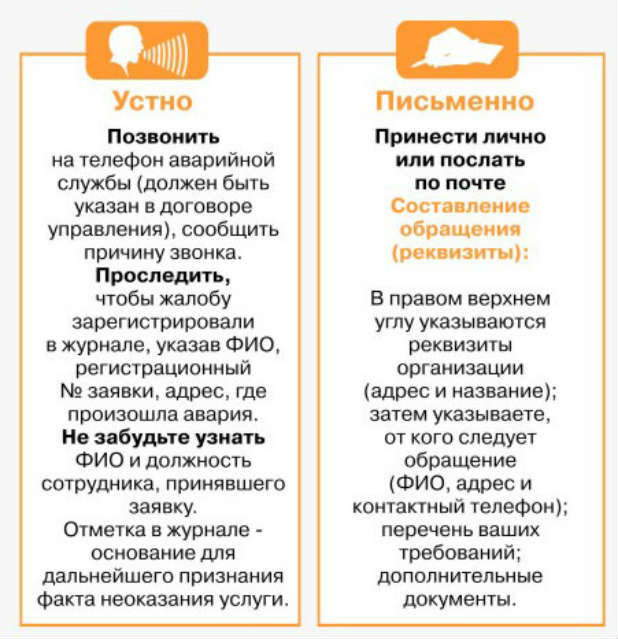 Как пожаловаться на управляющую компанию ЖКХ в москве