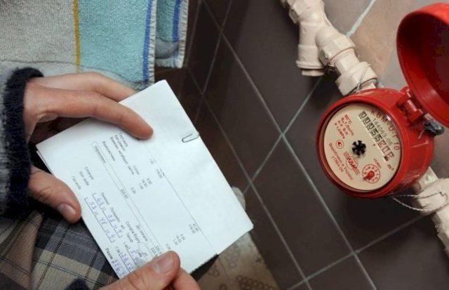 Как посчитать квартплату по счетчикам за воду