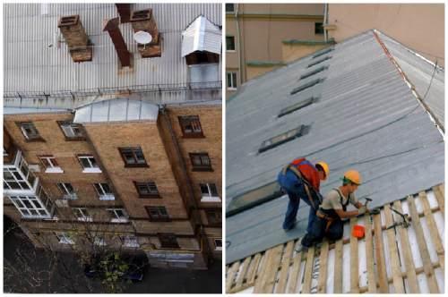 Если потекла крыша в многоквартирном доме что делать