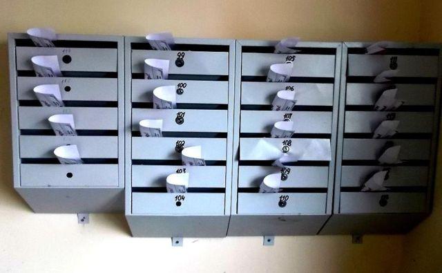 Где должны висеть почтовые ящики в многоквартирном доме