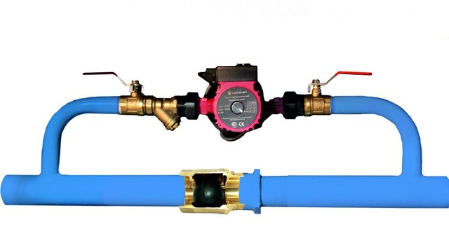 Для чего нужен байпас в системе отопления многоквартирного дома