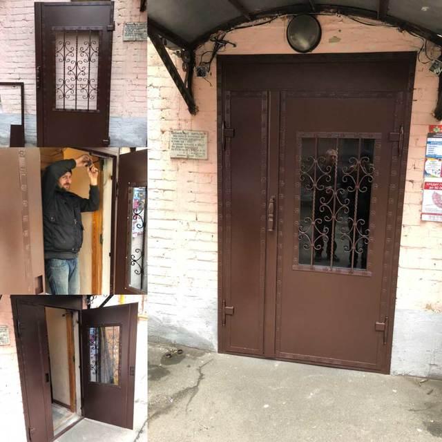 Входные двери в многоквартирный дом какие должны быть
